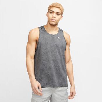 Nike Miler Tank Top Hommes Gris