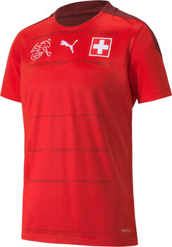 Puma SFV Schweiz Nati Home Replica Fussballtrikot Rot