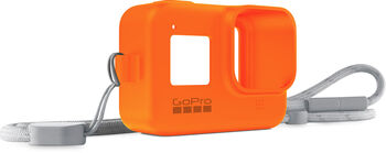 GoPro Sleeve + Lanyard Orange