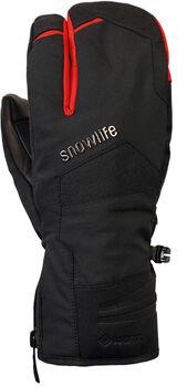 Snowlife Nevada GTX gant de ski 3 doigts Noir