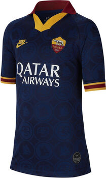 Nike AS Roma Breathe Stadium 3R Fussballtrikot Blau