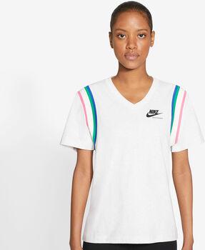 Nike Sportswear Heritage t-shirt Femmes Gris