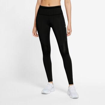 Nike Epic Luxe Tights Damen Schwarz