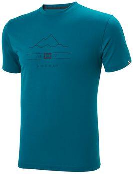 Helly Hansen Skog Graphic T-Shirt Herren Blau