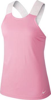 Nike Pro Elastika Tank Top Damen Pink