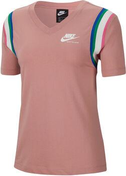 Nike Sportswear Heritage T-Shirt Damen Rot