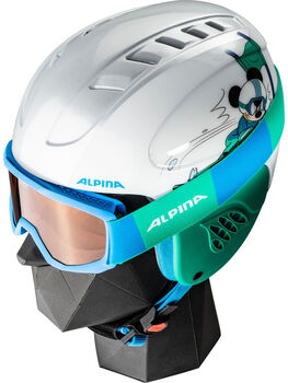 ALPINA Carat Disney Set Skihelm Weiss