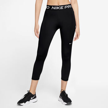 Nike Pro 365 Crops Tights Damen Schwarz