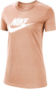Nike Sportswear Essential T-Shirt Damen Pink