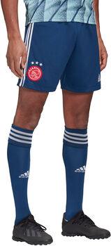 adidas Ajax Amsterdam 20/21 Away Fussballshorts Herren Blau