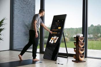 Vaha Fitness-Spiegel Schwarz
