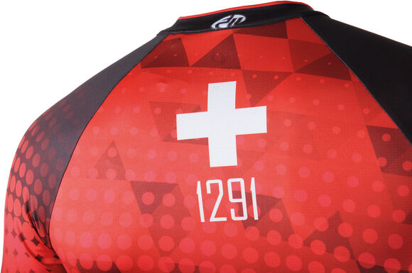 ELITE Interval LTD Jersey Suisse Edition 2.0 maillot de cyclisme