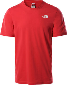 The North Face Red Box T-Shirt Herren Rot