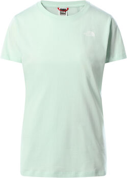 The North Face Simple Dome T-Shirt Damen Blau