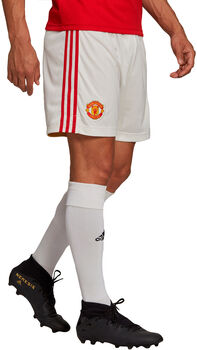 adidas Manchester United Home short de football Hommes Blanc