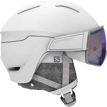Salomon Mirage Photo casque de ski Femmes Blanc