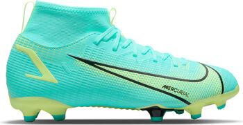 Nike JR Mercurial SUPERFLY 8 ACADEMY FG/MG chaussure de football Bleu