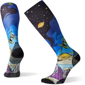 Smartwool PhD Ski Ultra Light Print Benchetler Socken Mehrfarbig