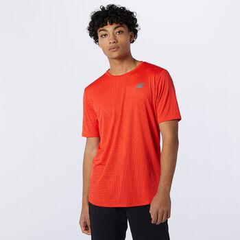 New Balance Q Speed Fuel Laufshirt Herren Orange