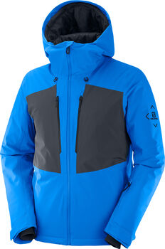Salomon Highland Skijacke Herren Blau