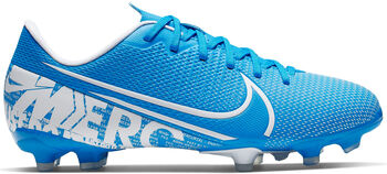 Nike JR VAPOR 13 ACADEMY FG/MG Fussballschuh Blau