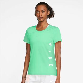 Nike Miler Run Division Laufshirt Damen Grün