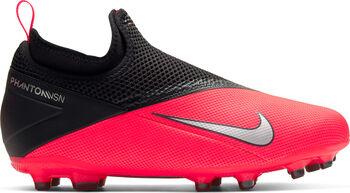 Nike PHANTOM VISION 2 ACADEMY DF FG/MG Fussballschuh Jungs Rot