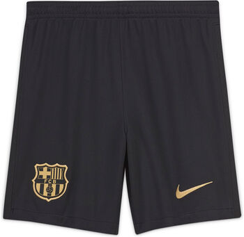 Nike FC Barcelona 20/21 Stadium Home/Away Fussballshorts Schwarz