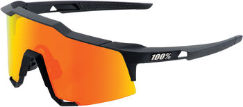 100% Speedcraft Tall soft tact Bikebrille Schwarz