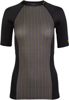 O'Neill Anglet Lycra Shirt kurzärmelig Damen Schwarz