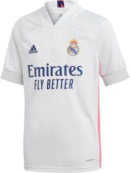 adidas Real Madrid 20/21 maillot domicile Garçons Blanc