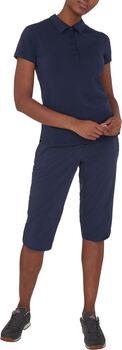 McKINLEY Okina II Poloshirt Damen Blau