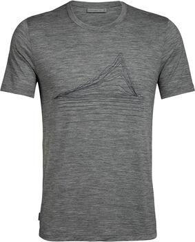 Icebreaker Tech Lite T-Shirt Heating Up Herren Grau