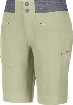 Radys R4W hiking softshell Shorts  Damen Grün