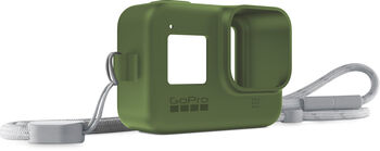 GoPro Sleeve + Lanyard Grün