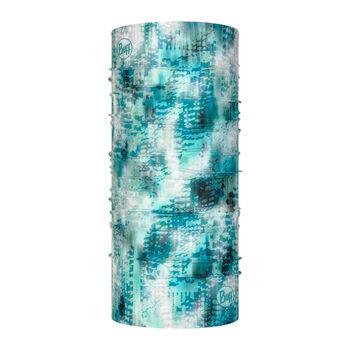 Buff Blauw Turquoise Foulard à tuyau Bleu
