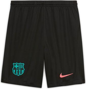 Nike FC Barcelona Breathe Stadium 3R Fussballshorts Schwarz