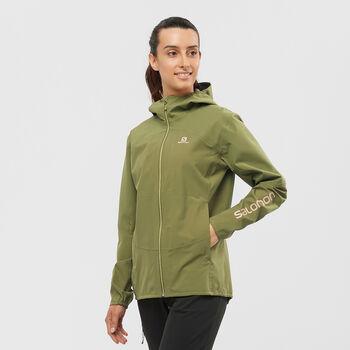 Salomon Outline Jacke  Damen Grün