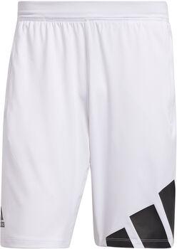adidas 4K 3 BAR short d'entraînement Hommes Blanc