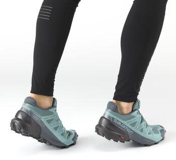 Salomon Speedcross 5 chaussure de trail running Femmes Gris