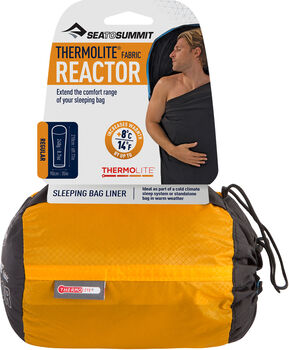 Sea to Summit Reactor Thermolite doublure de sac de couchage Noir