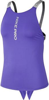 Nike PRO Capsule Elastika Tank Top Damen Violett