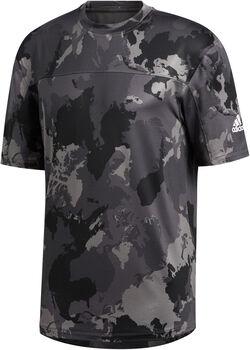 adidas Continent Camo City t-shirt Hommes Gris