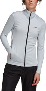 adidas TERREX Multi Full-Zip veste de randonnée Femmes Bleu