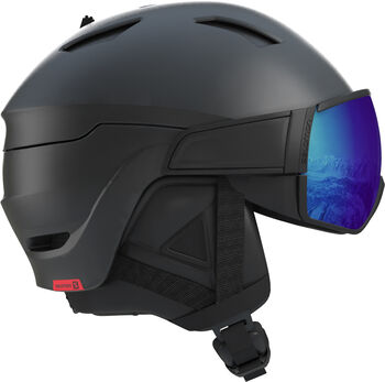 Salomon DRIVER PHOTO CD Casque de ski Hommes Noir