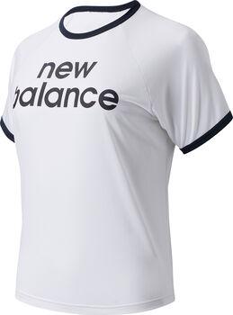 New Balance Achiever Graphic T-Shirt Damen Weiss
