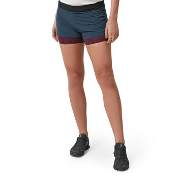 On RUNNING Laufshorts Damen Blau