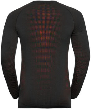Odlo PERFORMANCE WARM ECO Funktionsshirt langarm Herren Schwarz