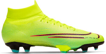Nike Mercurial Superfly 7 PRO MDS FG chaussure de football  Hommes Jaune