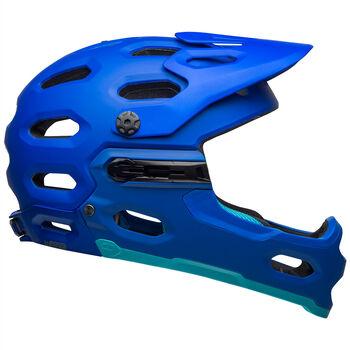 BELL Super 3R MIPS Bikehelm Herren Blau
